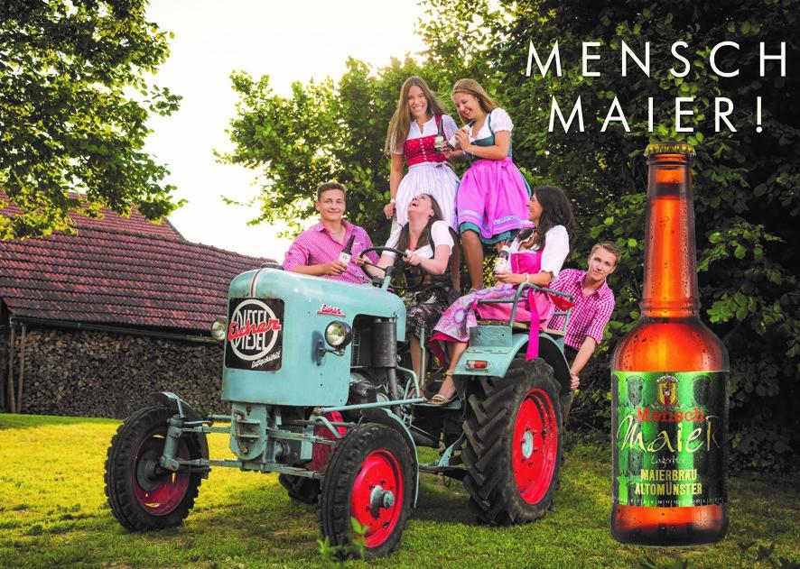 Maierbräu - Mensch Maier - süffiges Bier