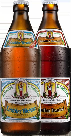 Biere, Weißbier, Landler Weiße, dunkles Weißbier, Craftbier