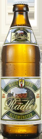 Biere, Radler, Naturradler Maierbräu