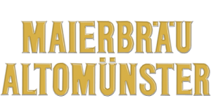 Download Schriftzug Maierbräu Altomünster gold untereinander