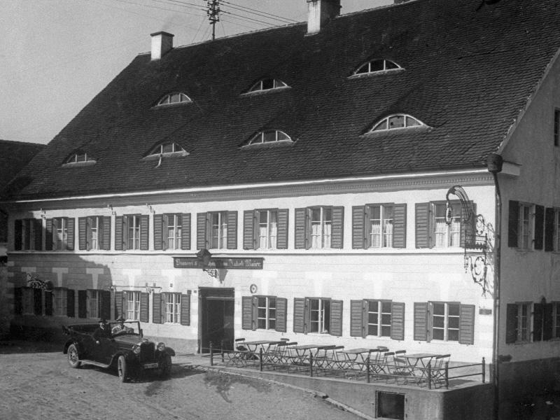 Historie Maierbräu Altomünster Brauereigasthof