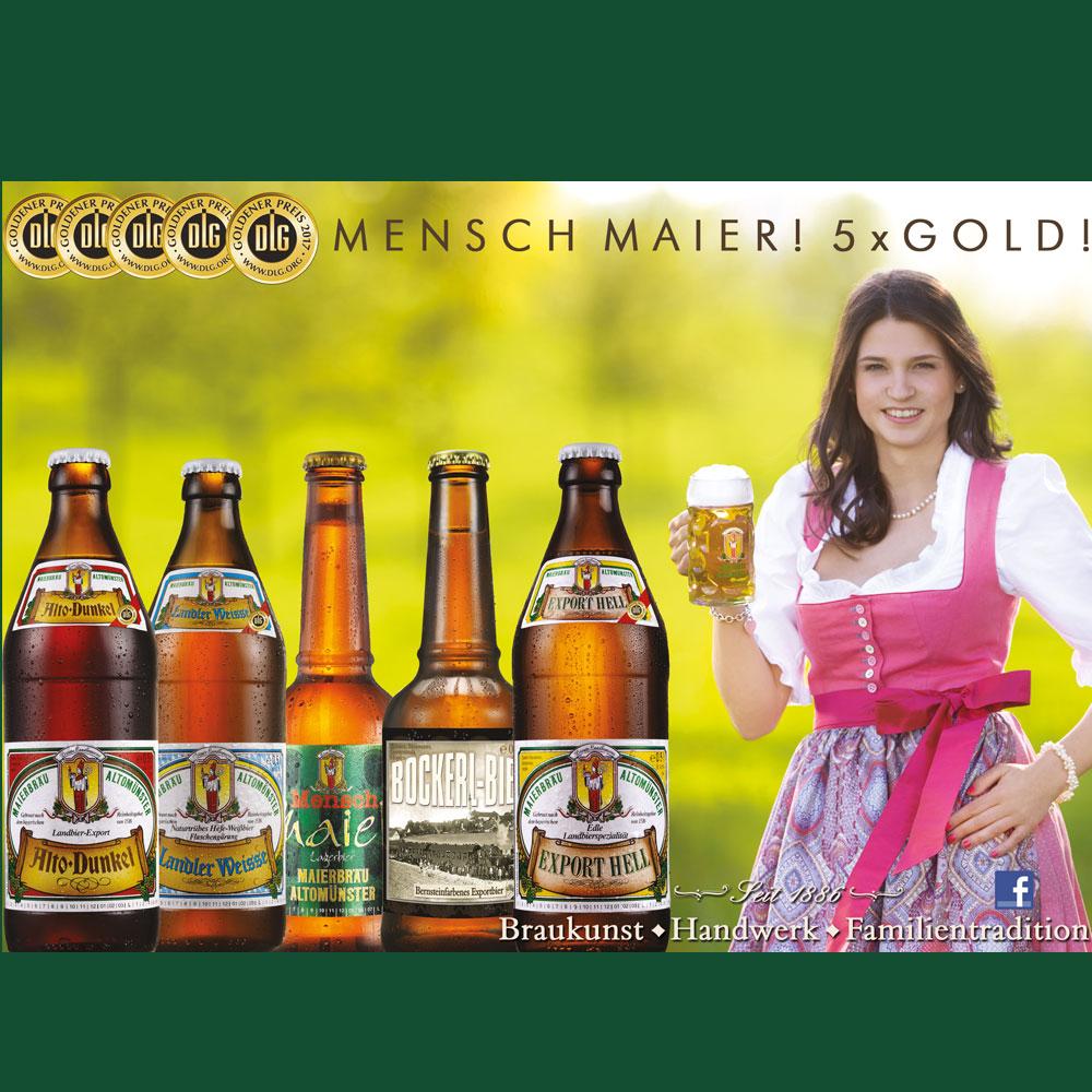 Historie Maierbäu 5 mal Gold DLG