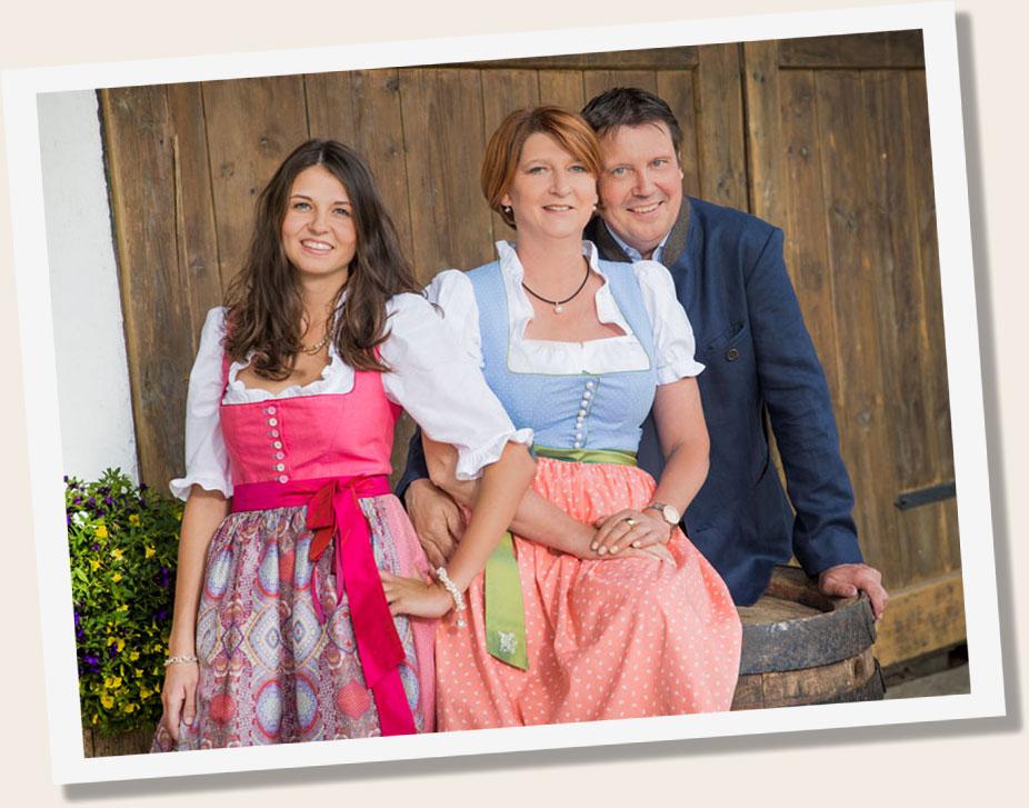Maierbräu, Famielie Maier