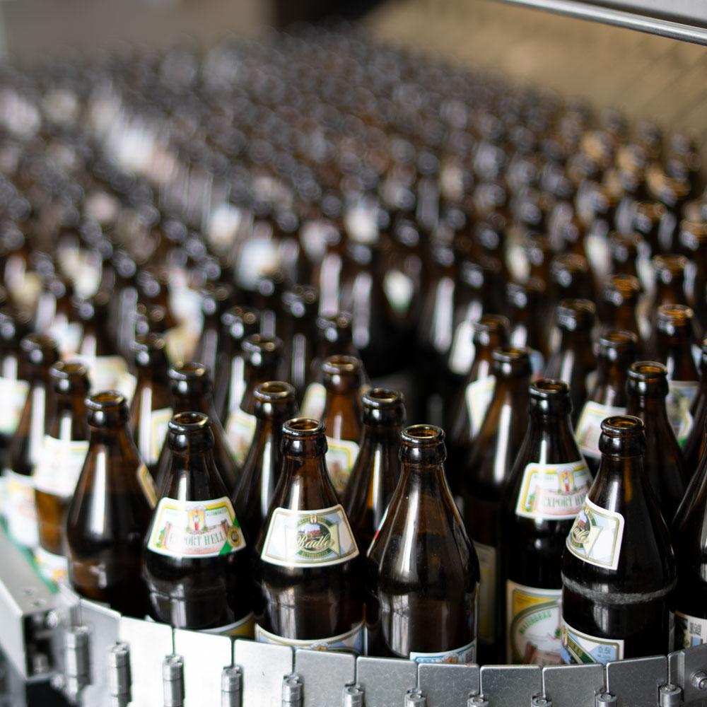 Historie Flaschenreinigung