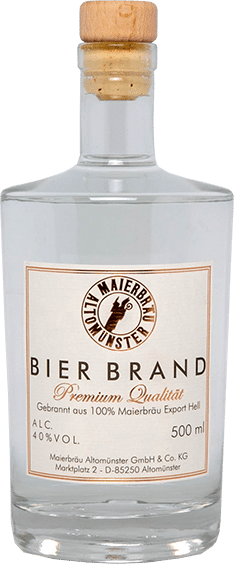 Getränke Maierbräu Bierbrand